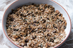 fertiges Granola